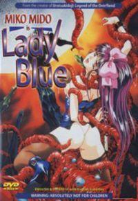 Lady Blue- Синяя Леди- хентай