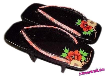 Японская традиционная обувь. - О Японии - Интересное Платформа Обувь Мужская