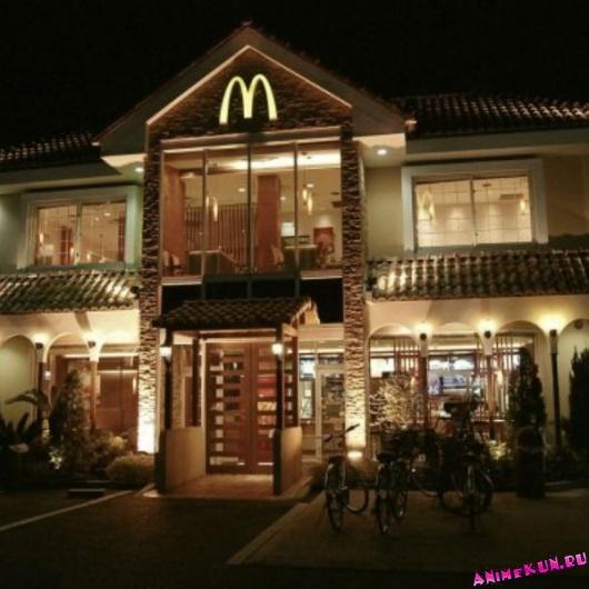 Макдоналдс в Хигасиоми.