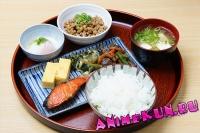 Завтрак в Японии