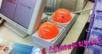 Оранжевые шары в магазинах Японии. Что это и зачем?