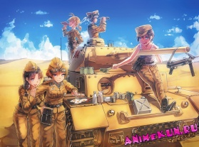 Обзор аниме: Девушки и Танки