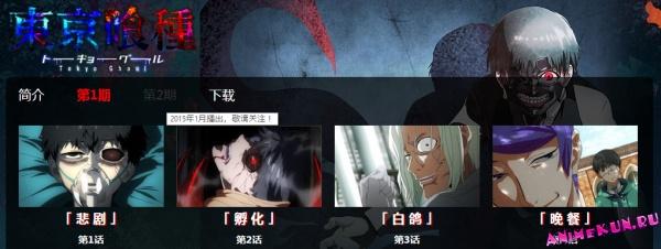 Tokyo Ghoul получит второй сезон!