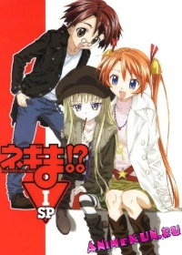 Волшебный учитель Нэгима! OVA-3 / Mahou Sensei Negima!: Shiroki Tsubasa Ala Alba