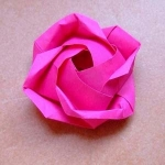 оригами,цветок