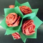 оригами,розы