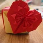 оригами,сердце