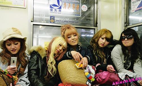 метро в японии