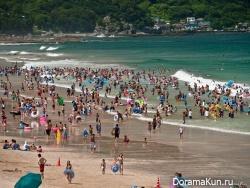япония,пляж