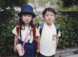 Японские дети в форме