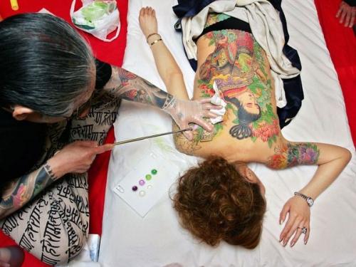 татуировка в Японии