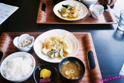 Уроки этикета - Японская трапеза