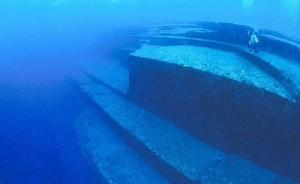 Главная терраса подводного город