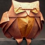 оригами,сова