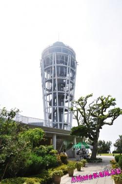 Маяк на острове Эношима