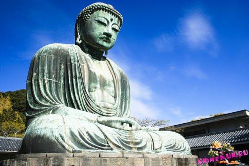 Большой Будда в Камакуре