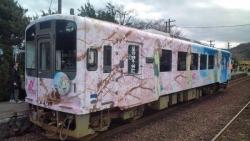 отаку поезд в японии