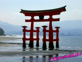 остров Ицукусима (Миядзима) в префектуре Хиросима