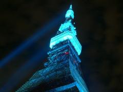Blue Tokyo Tower