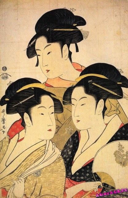 Три красавицы (1793)