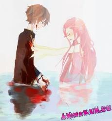 Euphemia Li Britannia and Suzaku Kururugi