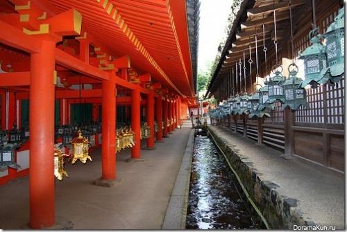 Исторические памятники Нара