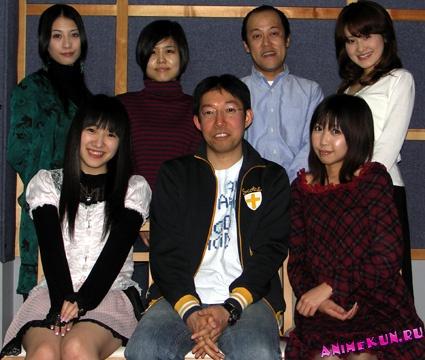 актёры-сэйю Тиэми Тиба (в аниме Карэн), Миюки Савасиро (в аниме Собана Кана)