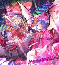 G100: Remilia Scarlet & Flandre Scarlet - Персонажи игры Тохо
