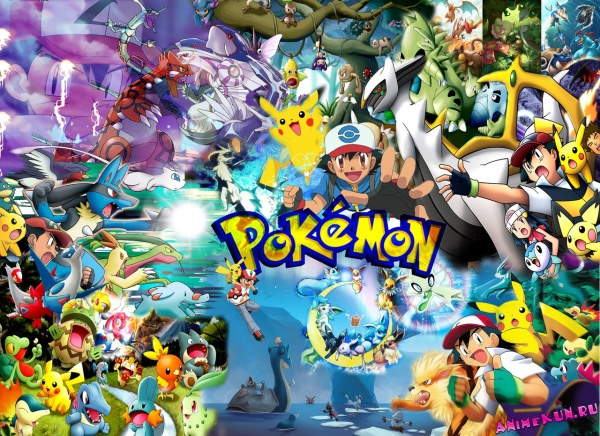 Обзор аниме: Покемоны
