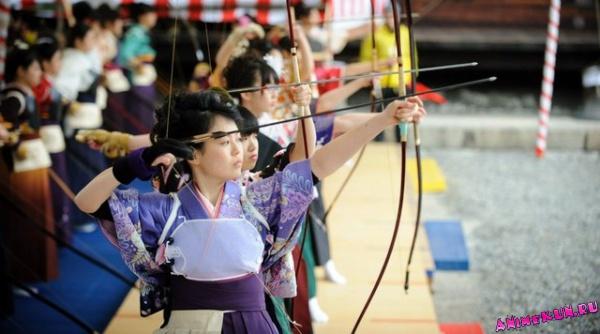 Японский длинный лук