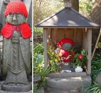 Истоки традиции одевать Дзидзо в красные одежки