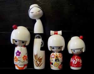 Кокэси. Японские куклы