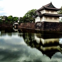 Императорский Дворец. Токио.