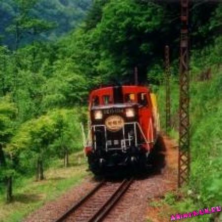 Романтический поезд Сагано.