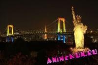 Статуя свободы на Одайбе.