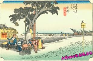 Картины Укиё-э