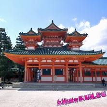Храм Хэйан.