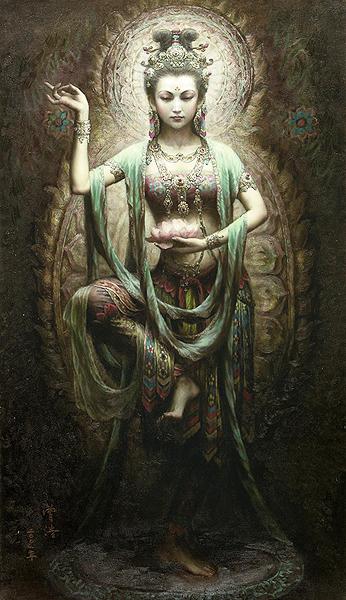 Гуаньинь - в буддийской китайской