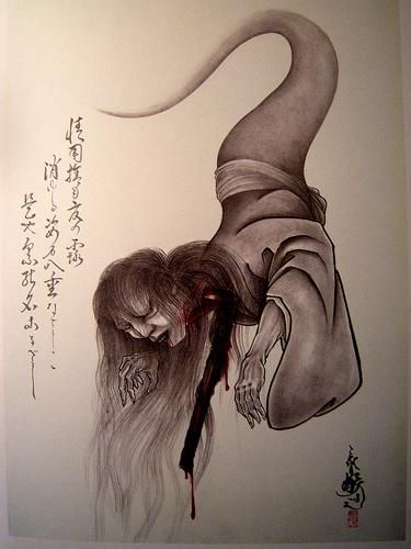 Японская мифология Yurei-01