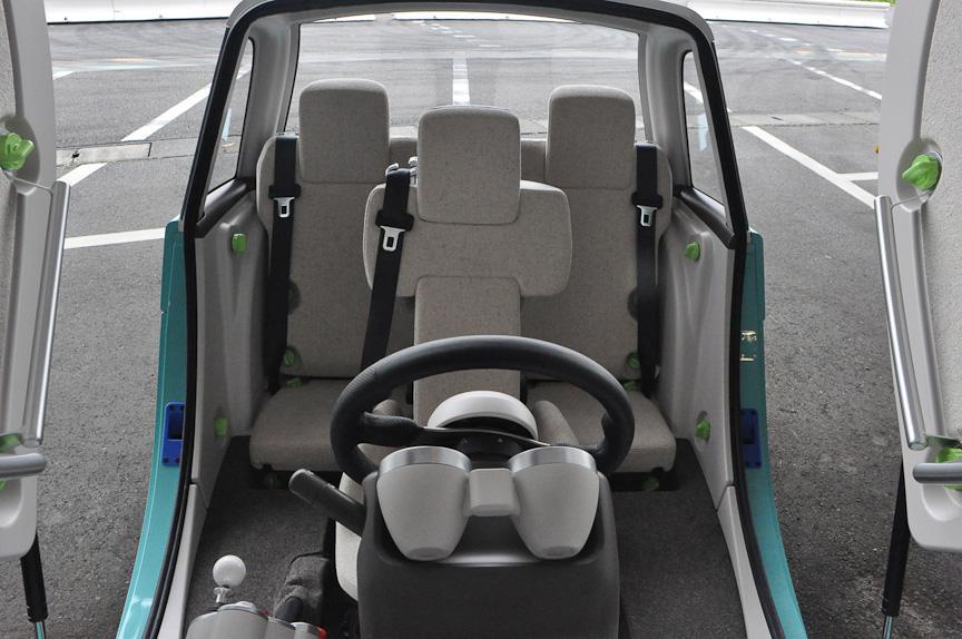 Toyota Camatte - автомобиль, которым могут управлять даже дети + Видео