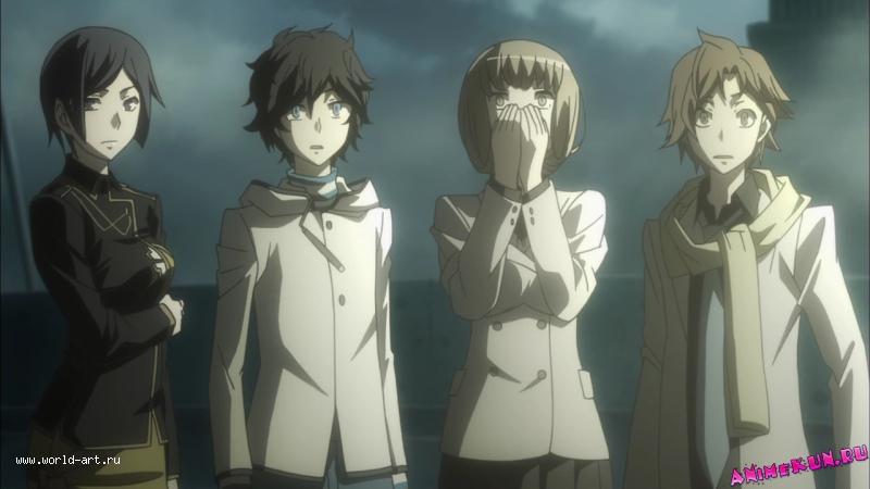 смотреть аниме выжившие среди демонов: