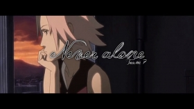 AMV - Never alone 720p
