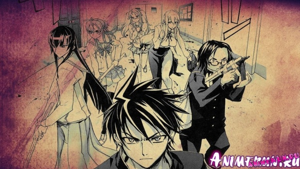 2-ой Сезон Highschool of the Dead!!!