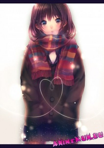 anime art winter