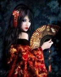 Японское кимоно. Косодэ