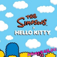 Hello Kitty и… The Simpsons